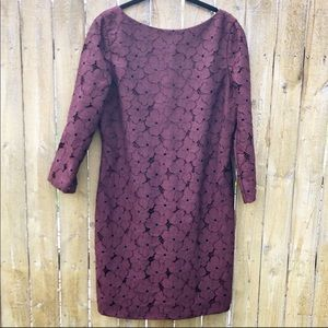 Diane Von Furstenberg Sarita Flower Lace Dress 10